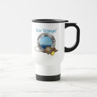 Ratón de la navegación el vacaciones tazas de café