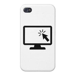 Ratón de la pantalla de ordenador iPhone 4/4S funda