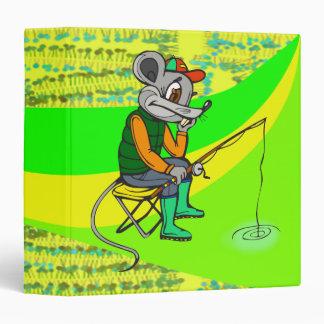 """Ratón de la pesca carpeta 1 1/2"""""""