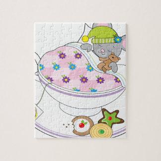 Ratón de la taza de té puzzles con fotos