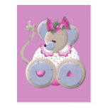 Ratón de Mabel Postales