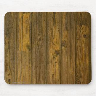 Ratón de madera de la textura tapetes de ratones