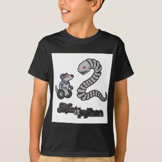 Ratón de Mecha contra serpiente Playera