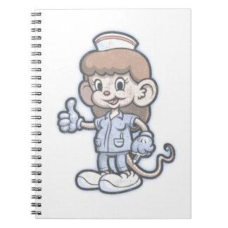 Ratón de Nursy Note Book