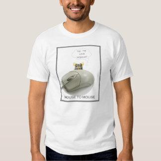 Ratón de Squeeky y ratón del ordenador Camisas