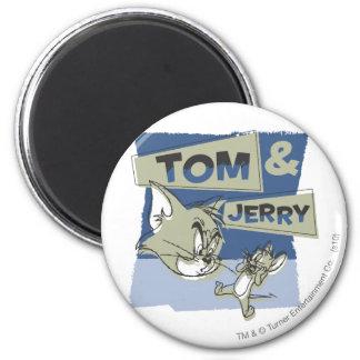 Ratón de Tom y Jerry Scaredey Imán Redondo 5 Cm