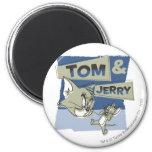 Ratón de Tom y Jerry Scaredey Imanes De Nevera