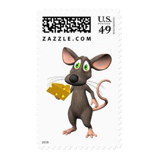 Ratón de Toon con franqueo del personalizado del