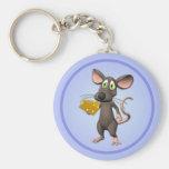 Ratón de Toon con llavero del queso