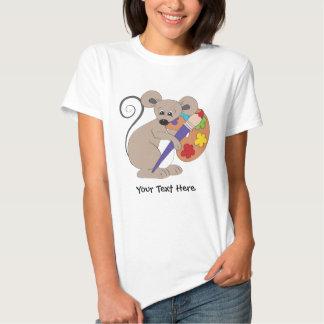 Ratón del artista (personalizado) camisas