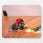 Ratón del boy scout alfombrilla de raton