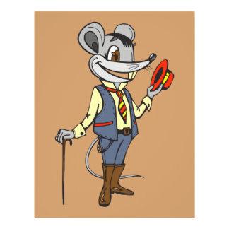"""Ratón del caballero folleto 8.5"""" x 11"""""""