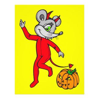 "Ratón del diablo folleto 8.5"" x 11"""