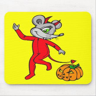 Ratón del diablo alfombrilla de ratones