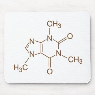 Ratón del empollón del friki del símbolo químico d tapete de raton