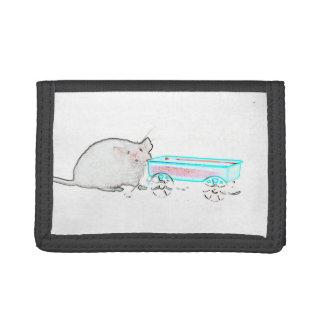ratón del esquema con los ratones lindos del carro