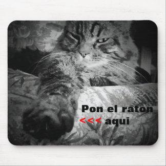 Raton del gato y del EL Tapetes De Ratones