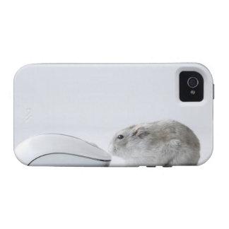 Ratón del hámster y del ordenador iPhone 4/4S carcasa