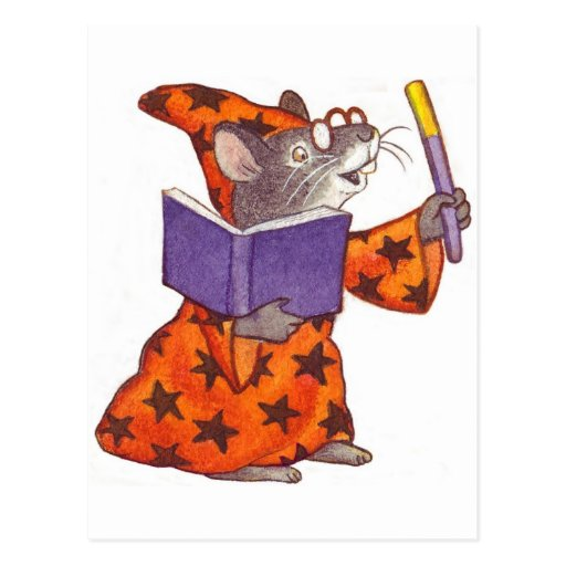 Ratón del mago postal
