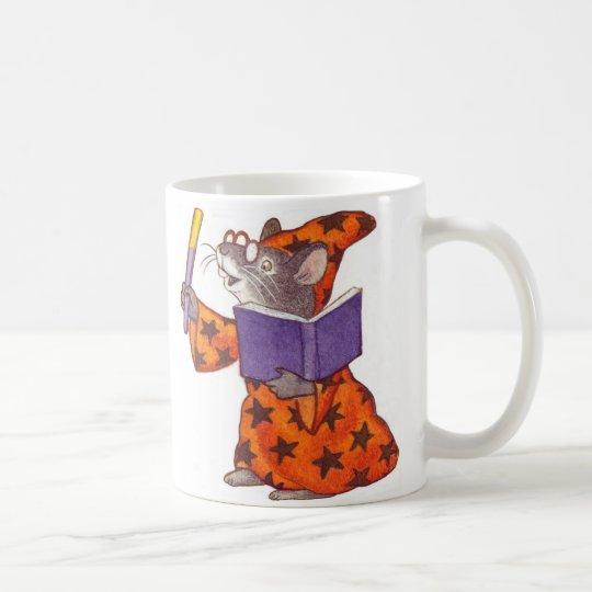 Ratón del mago taza de café