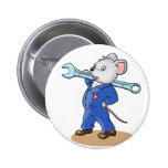 Ratón del mecánico - botón pin