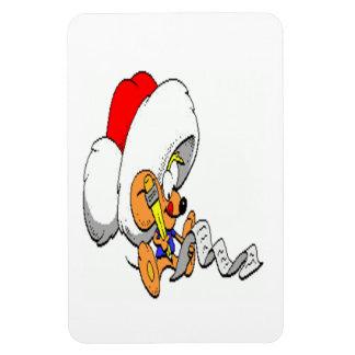 Ratón del navidad imanes