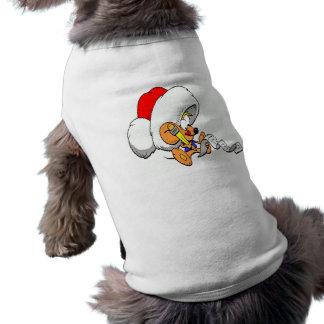 Ratón del navidad playera sin mangas para perro