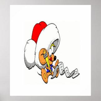 Ratón del navidad póster