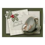 Ratón del navidad tarjeta de felicitación