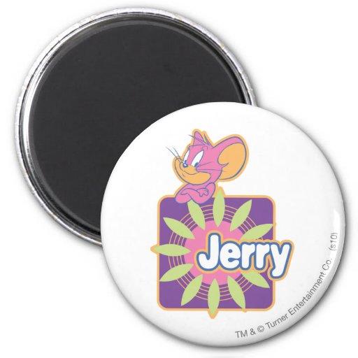 Ratón del neón de Jerry Imán Redondo 5 Cm