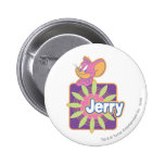 Ratón del neón de Jerry Pin Redondo 5 Cm