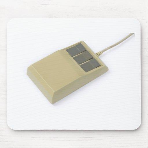 ratón del ordenador del viejo estilo tapetes de ratones