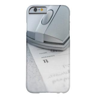 Ratón del ordenador en la prescripción escrita funda para iPhone 6 barely there