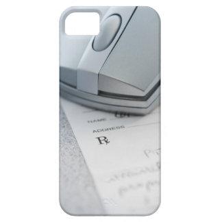 Ratón del ordenador en la prescripción escrita iPhone 5 Case-Mate cobertura