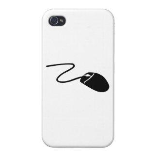Ratón del ordenador iPhone 4/4S carcasa