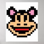 Ratón del pixel poster