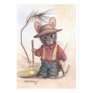 ratón del prospector postales