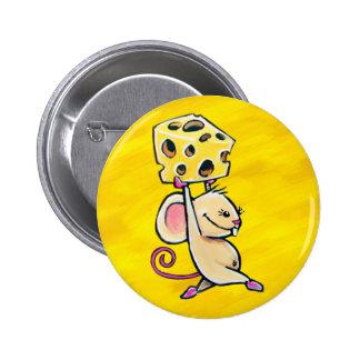 Ratón del queso pin