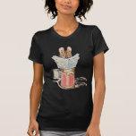 Ratón del sastre en el carrete del hilo camisetas