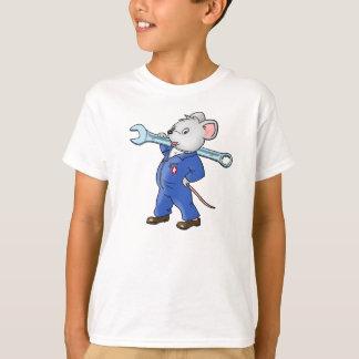 Ratón del trabajador - camiseta