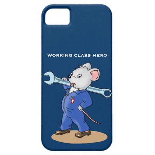 Ratón del trabajador - iPhone 5 de la casamata iPhone 5 Cárcasa