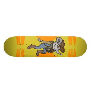 Ratón del vaquero tablas de skate