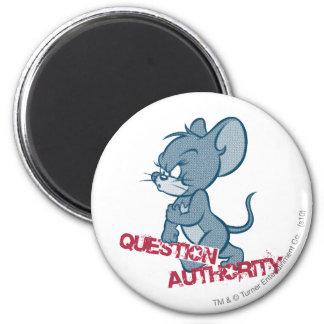 Ratón duro 2 de Tom y Jerry Imán Redondo 5 Cm