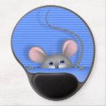 Ratón en bolsillo alfombrilla con gel