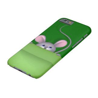 Ratón en bolsillo funda de iPhone 6 barely there