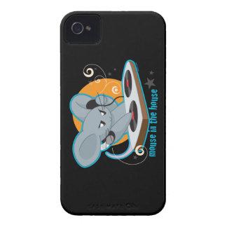 Ratón en la casa iPhone 4 Case-Mate cárcasas