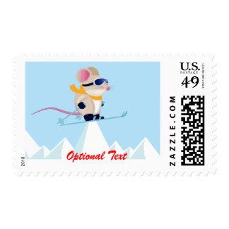 Ratón en las montañas - personalizable de la franqueo