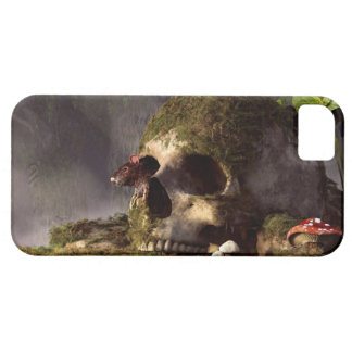 Ratón en un cráneo iPhone 5 carcasa