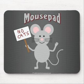 Ratón en un mousepad