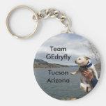 ratón, equipo GEdryflyTucson Arizona Llavero Personalizado